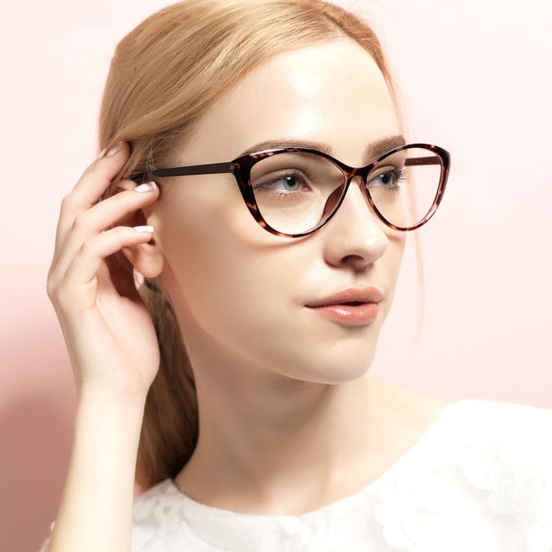 905f91a0ee 2019 BOYEDA Fashion TR90 Cat Eye Glasses Women Optica Spectacle Frame  Female Clear Computer Vintage Eyeglasses Frame Retro Eyewear From  Kuchairly