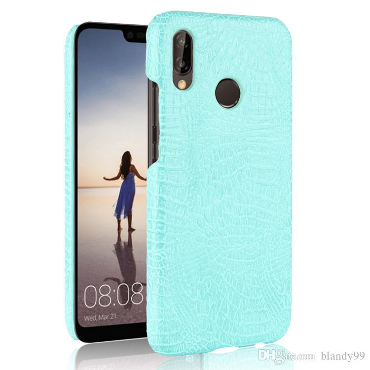 für Huawei P20 lite nova 3E 2S Luxus Krokodil Schlange Ledertasche zurück Abdeckung für Huawei P20 Pro genießen 7S P smart