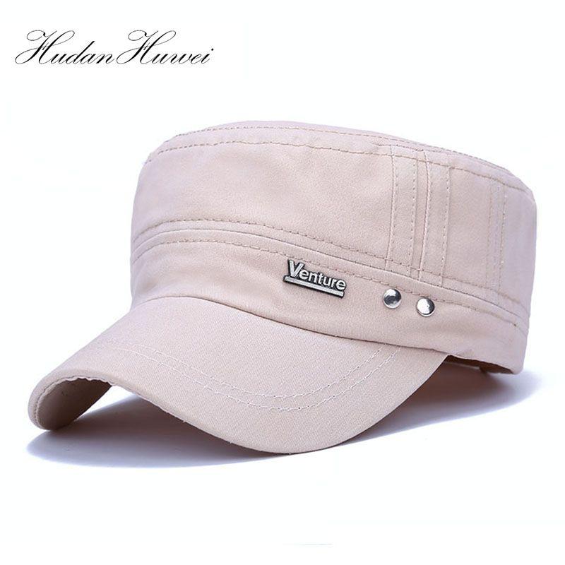 Fashion Men Women Multicolor Unisex Adjustable Classic Style Flat Top  Vintage Hat Cadet Cap Best PDJM003 Caps Hats Fitted Cap From Enchanting11 f41998be0dd