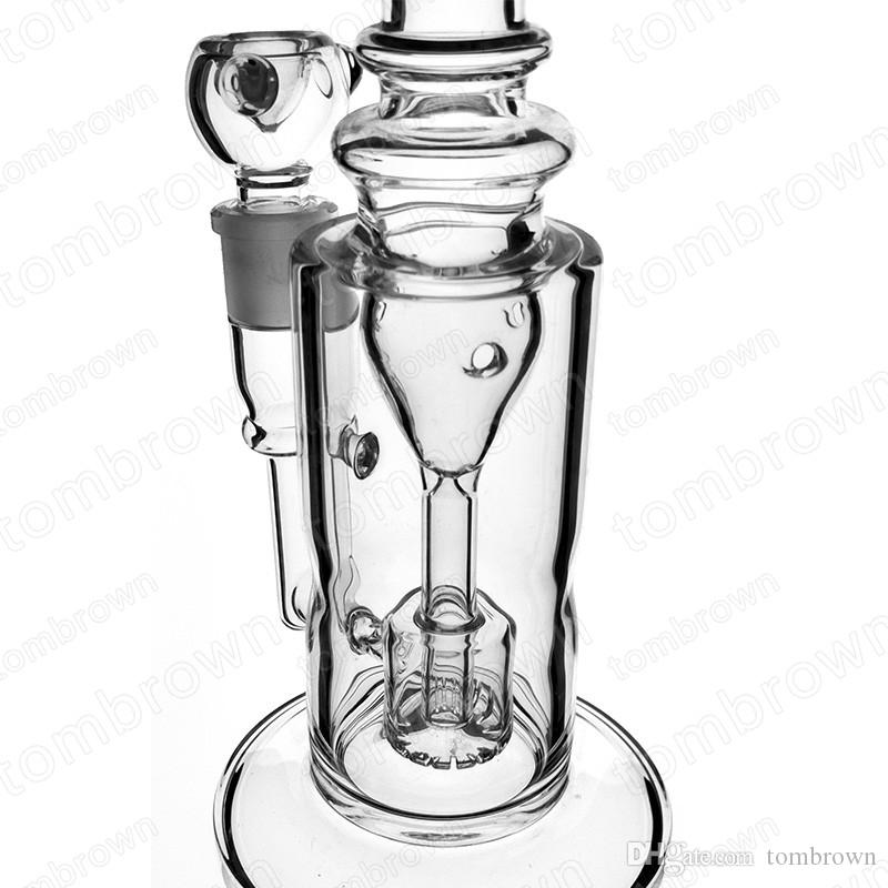 Good commodity oil rig glass bongs water pipes bongs smoking set with 12 inches 18mm female joint