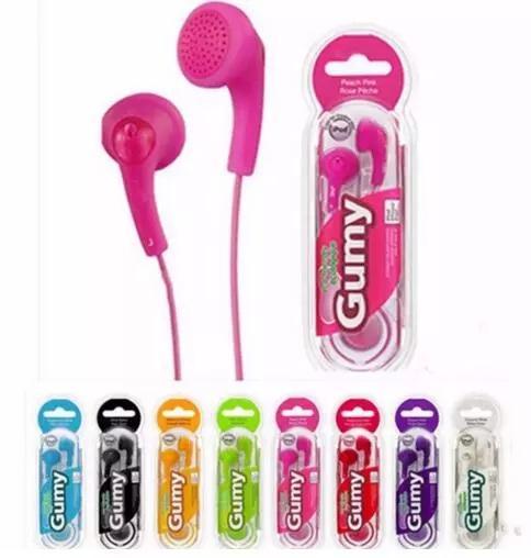 Gumy ha f150 kopfhörer gummiartige kopfhörer handy kopfhörer kopfhörer kopfhörer ohrhörer 3,5 mm ohne mikrofon fernbedienung für iphone samsung