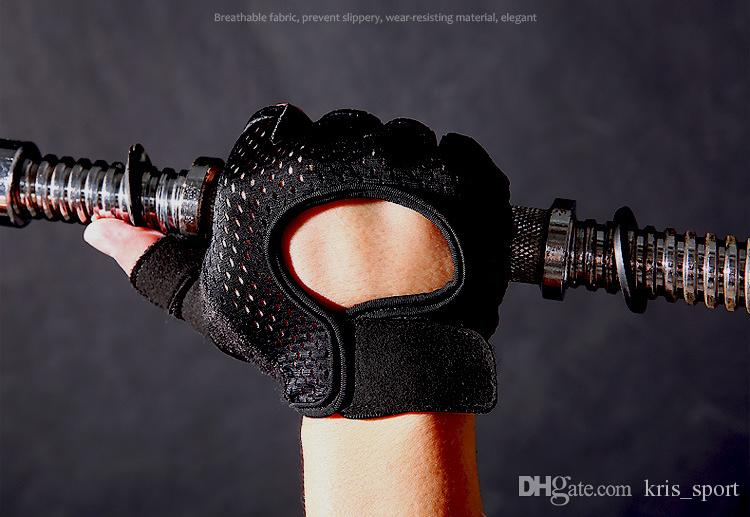 Half finger Summer outdoor bicycles sport glove short shock-absorbing antiskid thin and breathable Yoga body dumbbell 029