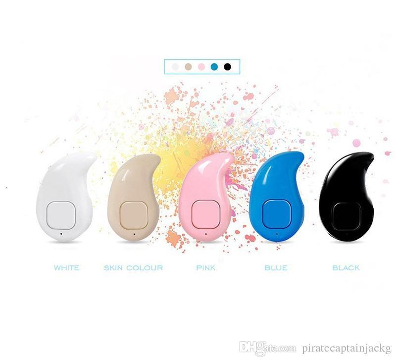 스포츠 실행 미니 S530 스텔스 무선 블루 치아 4.0 이어폰 스테레오 헤드폰 음악 헤드셋 iphoneX iphone 8에 대한 삼성 NOTE8