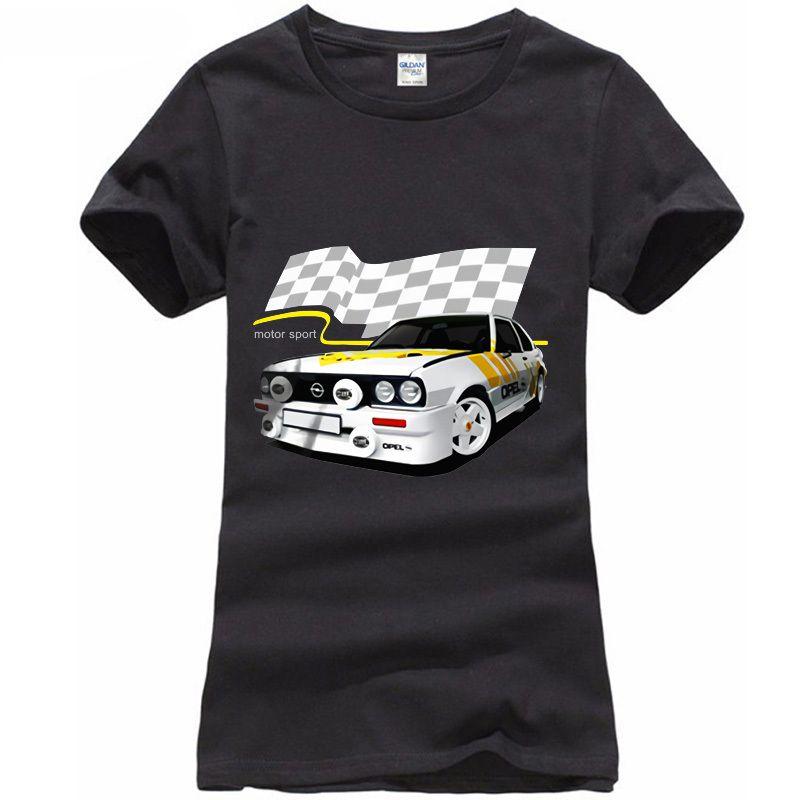 Ascona Vauxhall B Camisetas Camiseta Wrc O 400 En Gris Opel Rally Cavalier Blanco kO8n0wP