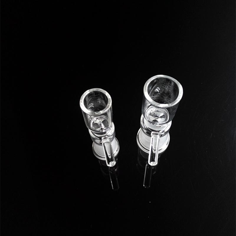 14.4mm or 18.8mm Female Pinch Bowl Glass Nail with Nifty Handle Good 14mm 18mm Female Bowls for Water Pipe Glass bongs