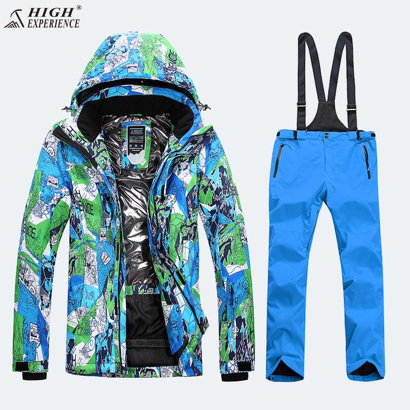 403d0df7b9e 2019 Ski Jacket Men Winter Sport Thicken Coat Waterproof Windbreaker Ski  Suit Men Snowboard Set Snow Clothes Plus Size XXXL Warm From Duriang