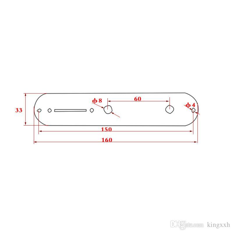 3-позиционный переключатель Проводная панель управления для телеуправляемых регуляторов скорости вращения электрогитары.