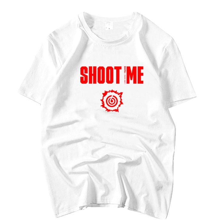 Day6 Album Shoot Me Youth Same Printing O Neck Short Sleeve