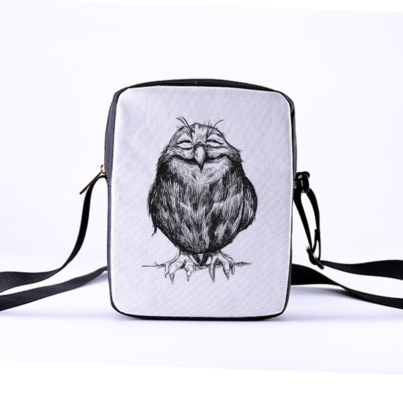 9e236642cc CROWDALE Women Messenger Bags Flap Bag Lady Canvas Cartoon Owl Printed  Crossbody Shoulder Bags Small Female Handbags 23x17x5cm Ivanka Trump  Handbags Western ...