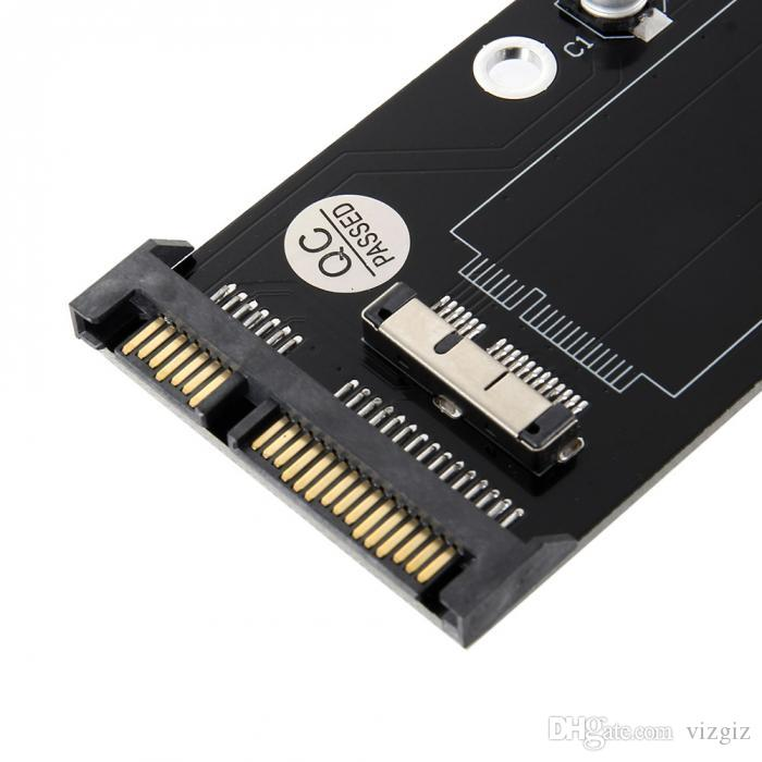 12+6 Pin SSD HDD to SATA Hard Drive Replacement Adapter for Apple 2010 2011 Macbook Air A1369 A1370 XXM8