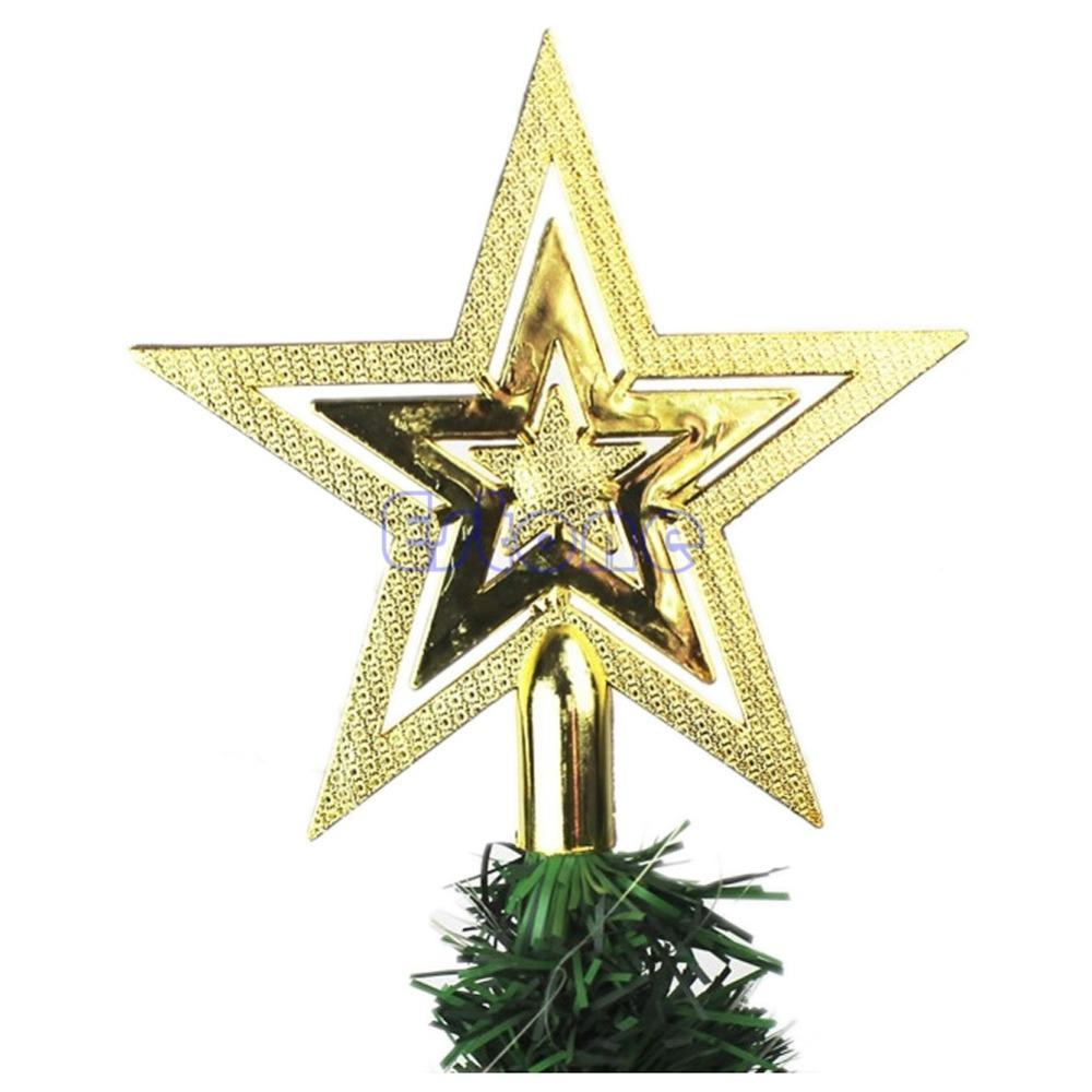 Christmas Tree Star Topper Home Party Holiday Ornament Decoration ...
