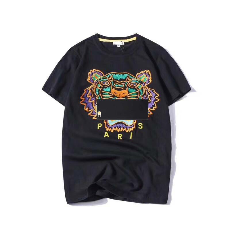 07e7c08d57b ... For Men Tiger Head Letter Embroidery T Shirt Mens Clothing Brand Short  Sleeve Tshirt Women Tops S 2XL Tee Shirts Online Shopping T Shirts Shop  Online ...