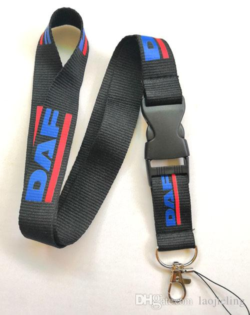DAF truck logo Lanyard Neck Cell Phone Key Chain Strap and phone lanyard Quick Release