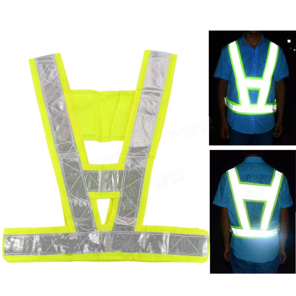 Security Reflective Vest Safety Reflective Vest Reflective Safety Jacket Breathable Traffic Night Work Security Running Cycling Home