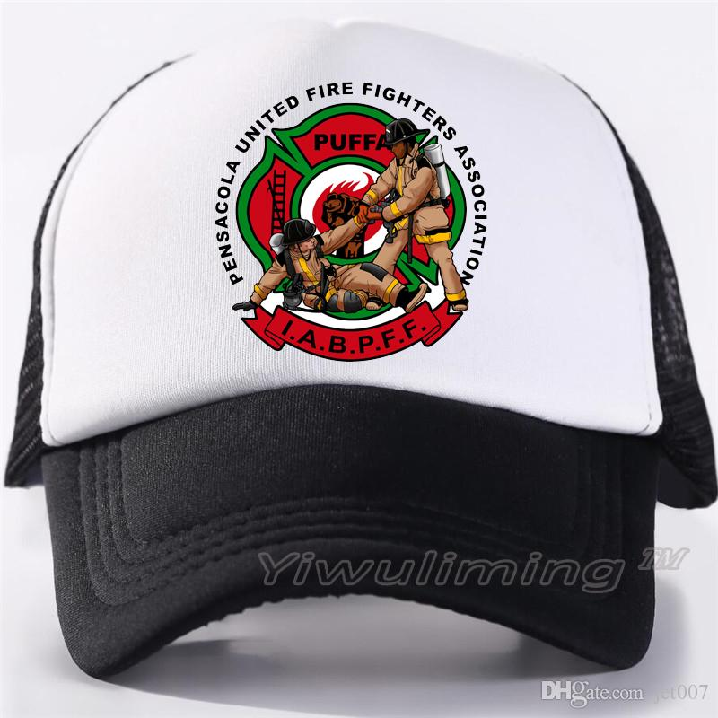 b43e5f65 Men Women New Summer Trucker Caps Firefighters Cool Summer Black Adult Cool Baseball  Mesh Net Trucker Caps Hat For Men Adultbeyonce Neweracap Cap Hat From ...