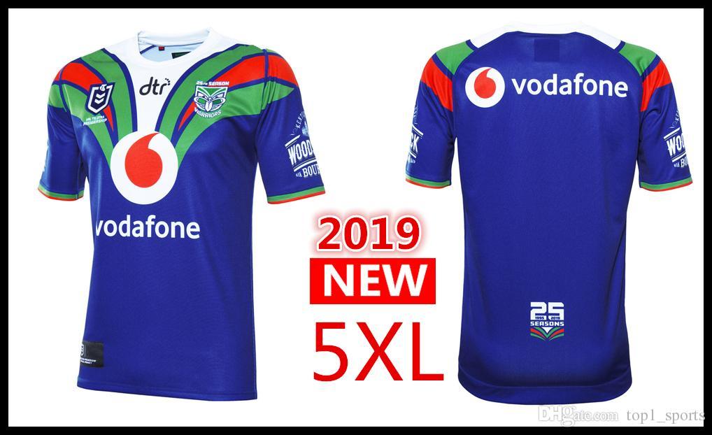 cheap for discount 51f67 31ea4 2019 VODAFONE WARRIORS HOME JERSEY 25TH SEASON New Zealand Super League  Rugby shirt warriors jersey s-3xl