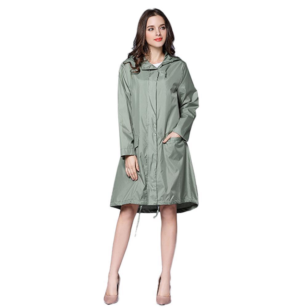 d0afffa3b Long Raincoat Women Waterproof Windproof Hood Ladies Thin Rain Coat Ponchos  Jackets Female Chubasqueros Mujer Capa De Chuva Canada 2019 From Deve, ...