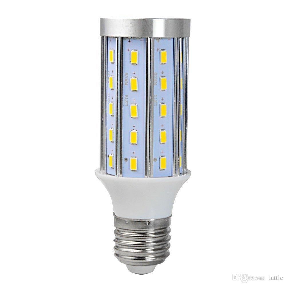 Ultra Bright PCB Алюминий 5730 SMD LED Corn лампы 85V-265V 10W 15W 20W 25W 30W 40W 60W 80W Нет Мерцание светодиодные лампы