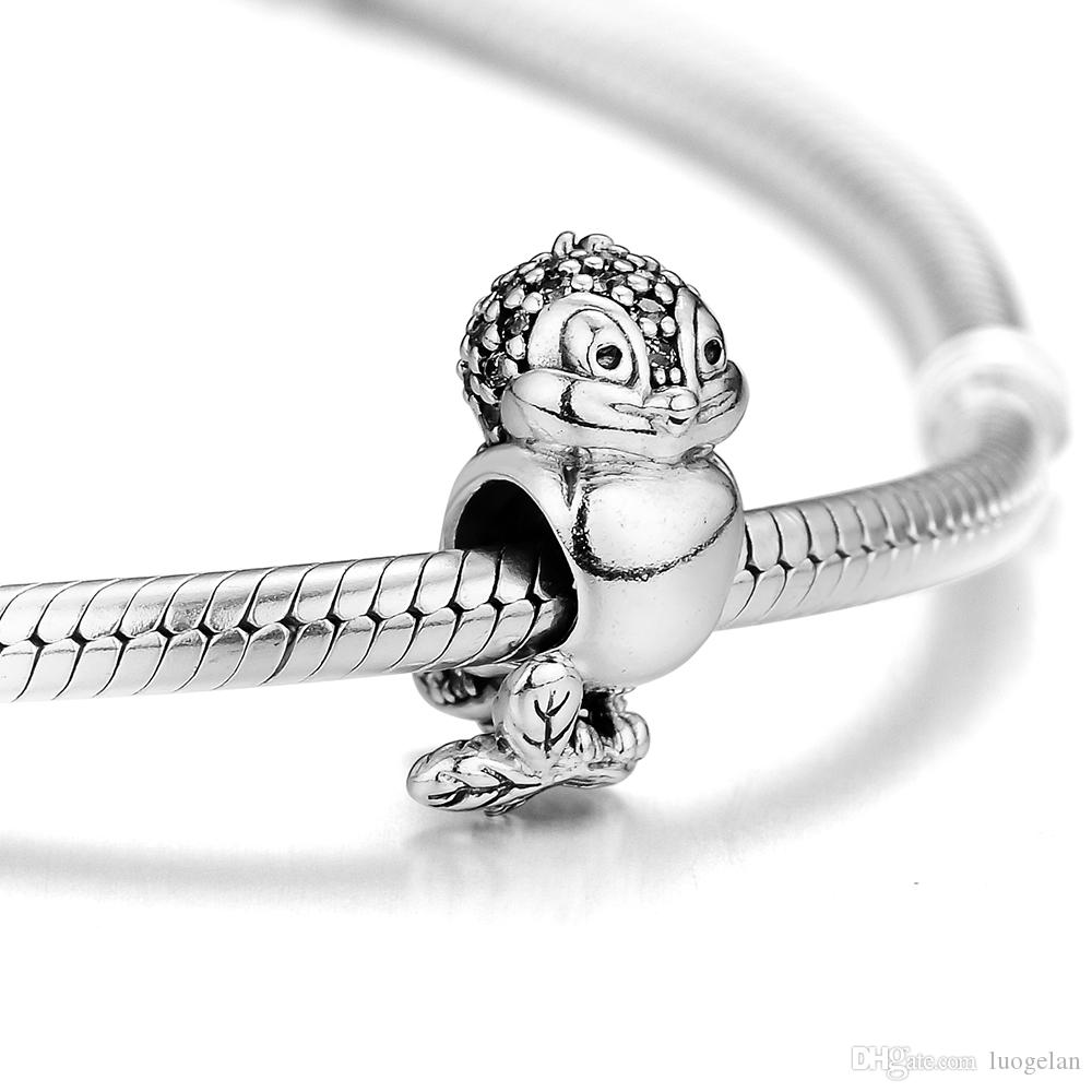 Fine Jewelry Jewelry & Accessories 100% 925 Sterling Silver Monkey Animal Charms Beads For Women Fits Original Bracelets Necklace Charm Silver 925 Jewelry