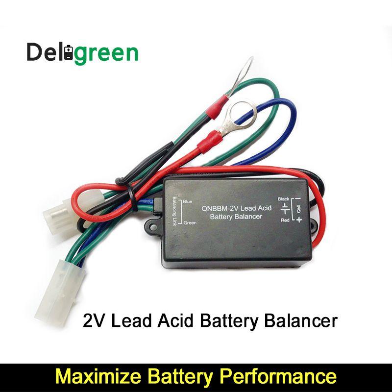1S 2V lead acid battery balance equalizer AGM GELL FLOODED for 12V till  1000V anti sulfuration vulcanization battery balancer