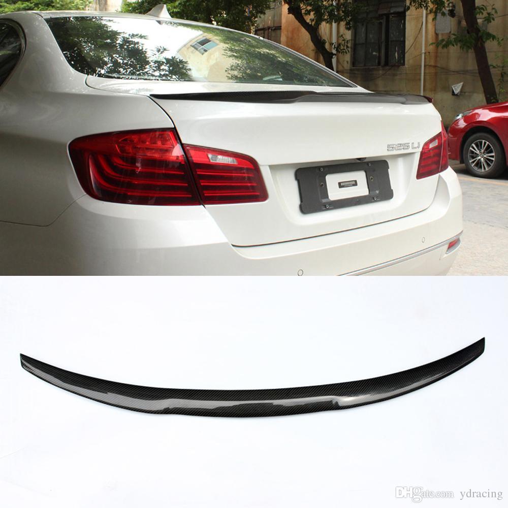 2019 M4 Car Styling Carbon Fiber Glossy Rear Spoiler Trunk Wings Lip