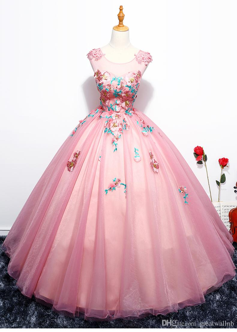 100%real Royal Flower Leaf Carnival Ball Gown Medieval Renaissance ...