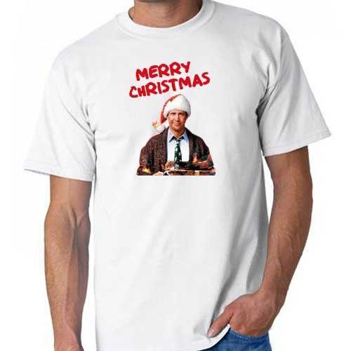 Griswold Chevy Chase National Lampoon Weihnachtsferien T-Shirt Parodie
