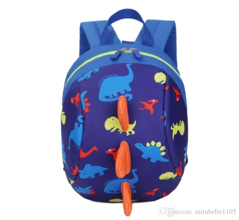 Dinosaur Kindergarten Baby Anti Lost Backpack Kids Bag Small Children  School Bags For Boys And Girls Strap Walker Preschool Bag Messenger Bags  Leather ... 2aa88032d90ed