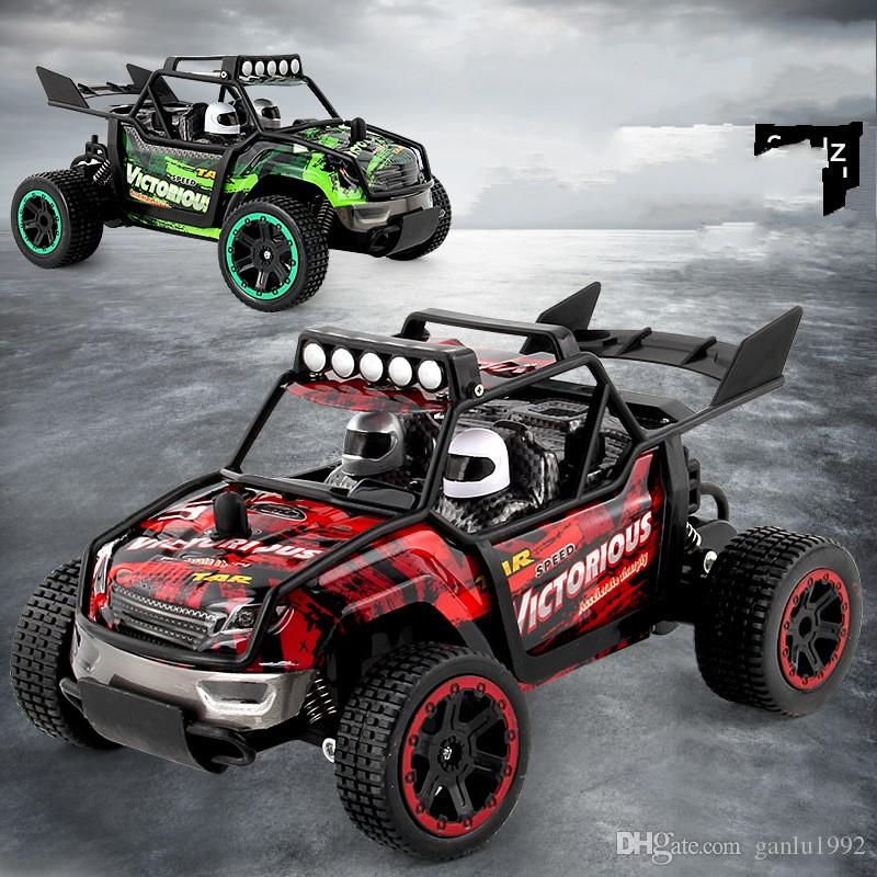 Remote Control Car 1:18 2.4G Vehicles Off Road Cross Country Drift Climbing Child Kid Toy RC Toys High Speed Hot Sale 52xd V
