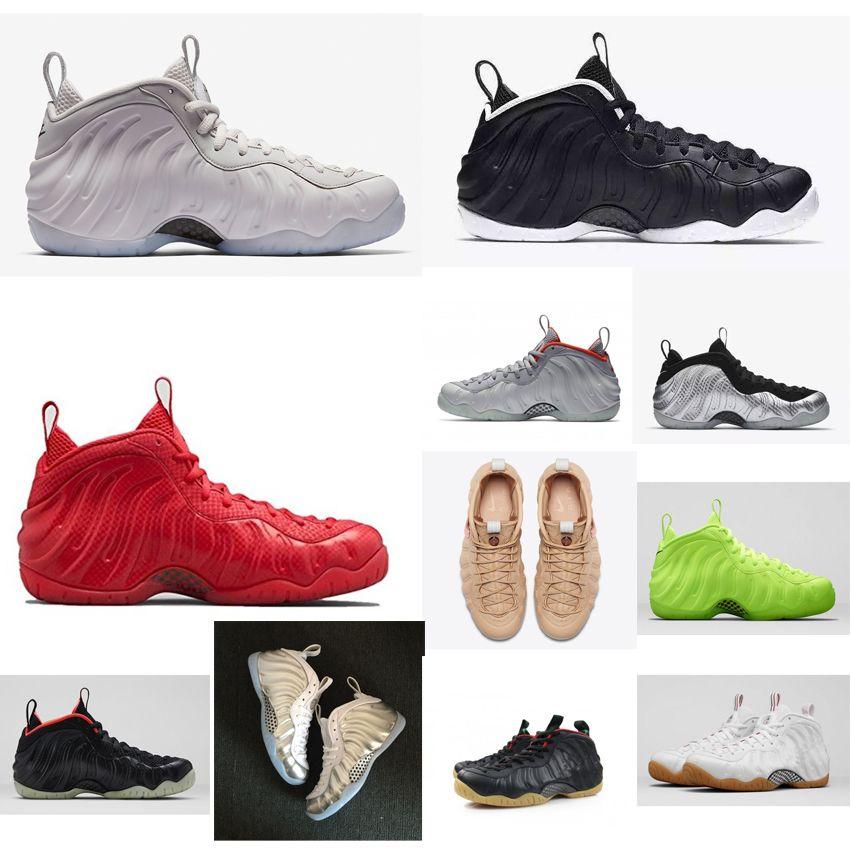 e45f5d63f0f Cheap New Mens Penny Hardaway Basketball Shoes Black White Platinum ...