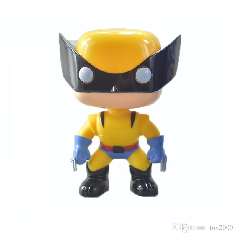 FUNKO POP DC Justice action figures League & Marvel Avengers Super Hero Characters Model Vinyl Action & Toy Figures for Children