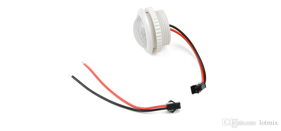 220V PIR Motion Sensor Switch ON / OFF IR Infrared Human body Indction Sensor light Control Detector Module 50HZ