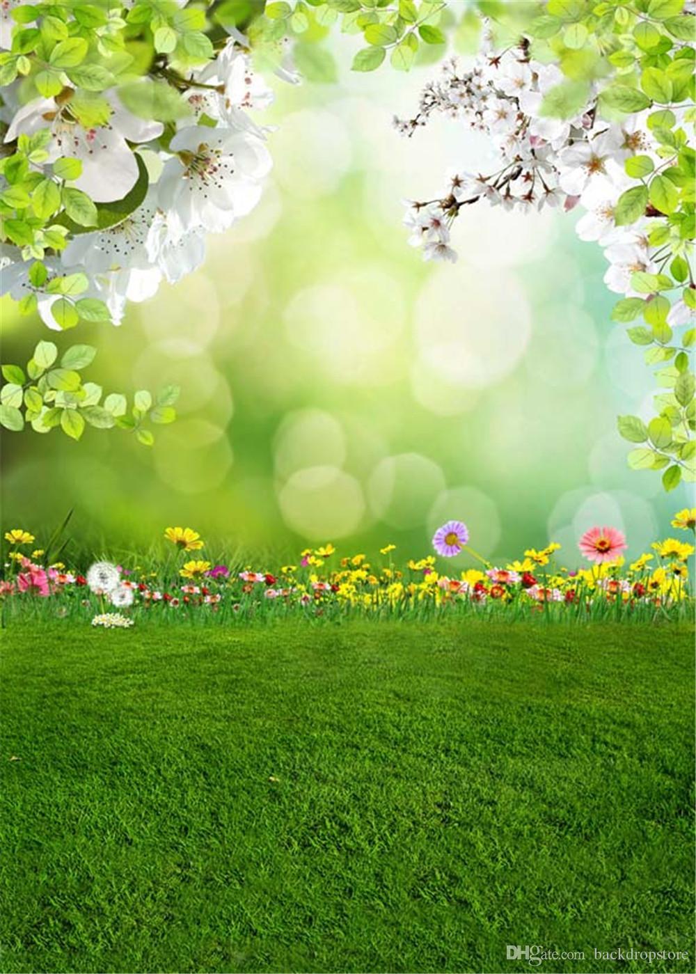 2019 Bokeh Spring Scenic Background For Photo Studio ...