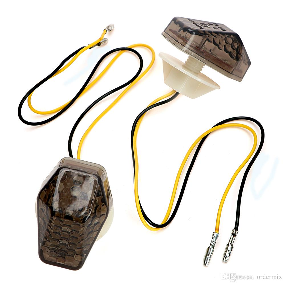 2018 Turn Signal Lights Motorcycle Accessories Universal Amber Wiring Supplies For Suzuki Lighting Indicator Lamps From Ordermix 226