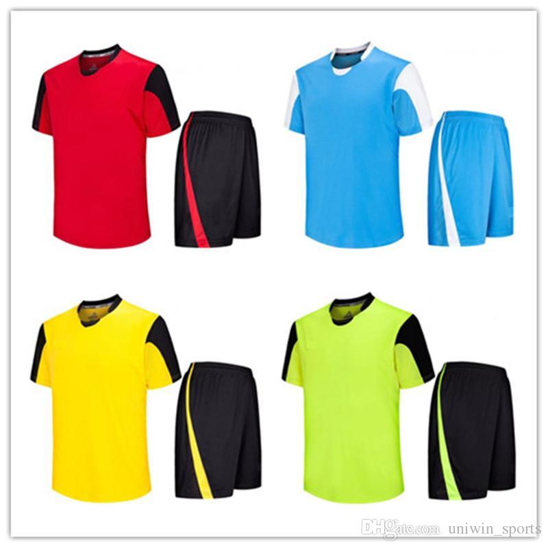 BN-8 Custom Soccer Jersey Uniform Kids Training Football Set 2017 ... e622415b7