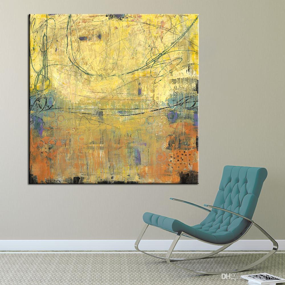 2018 1 Panel Canvas Painting Wall Art Abstract Wall Pictures For ...