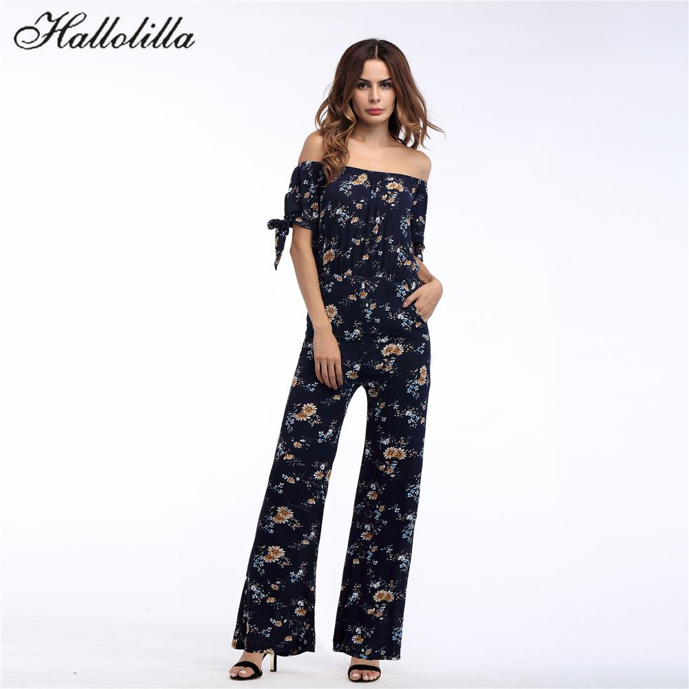 b483fa083db 2019 Holiday Jumpsuits For Women 2018 Boho Rompers Womens Jumpsuit ...