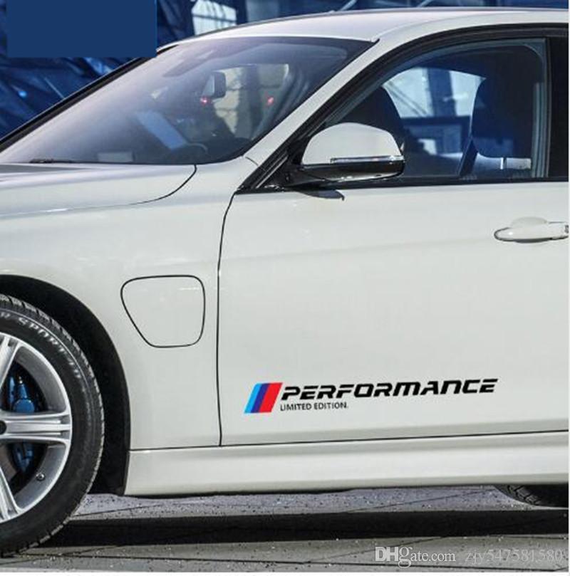 / New Style Car Styling Stickers Autocollants De Porte De Voiture Side Sticker Édition Limitée Pour BMW E46 e90 e39 f30 f34 f10 e70 e71