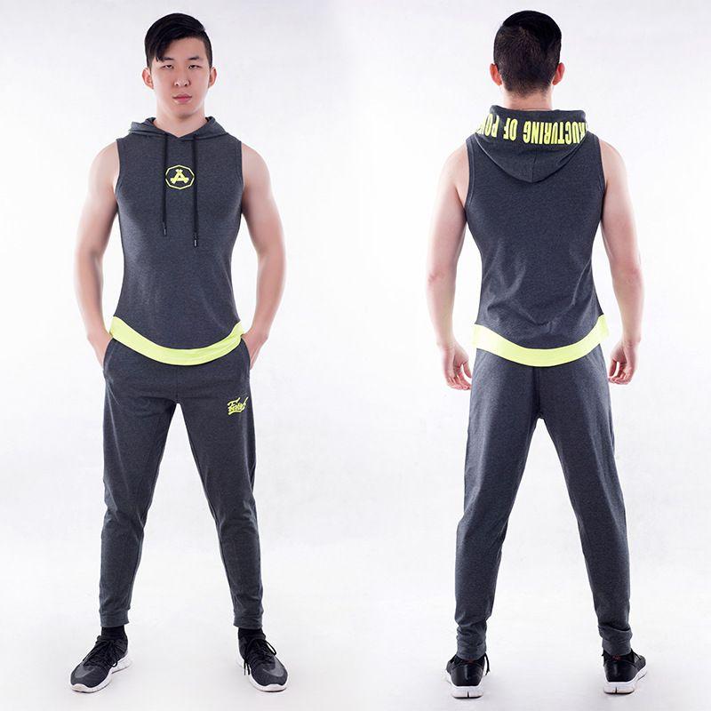 Mens Plus Size Course Ensembles À Manches Courtes Survêtement Sport Jogging Compression Fitness Costumes De Formation T-shirts Et Pantalons