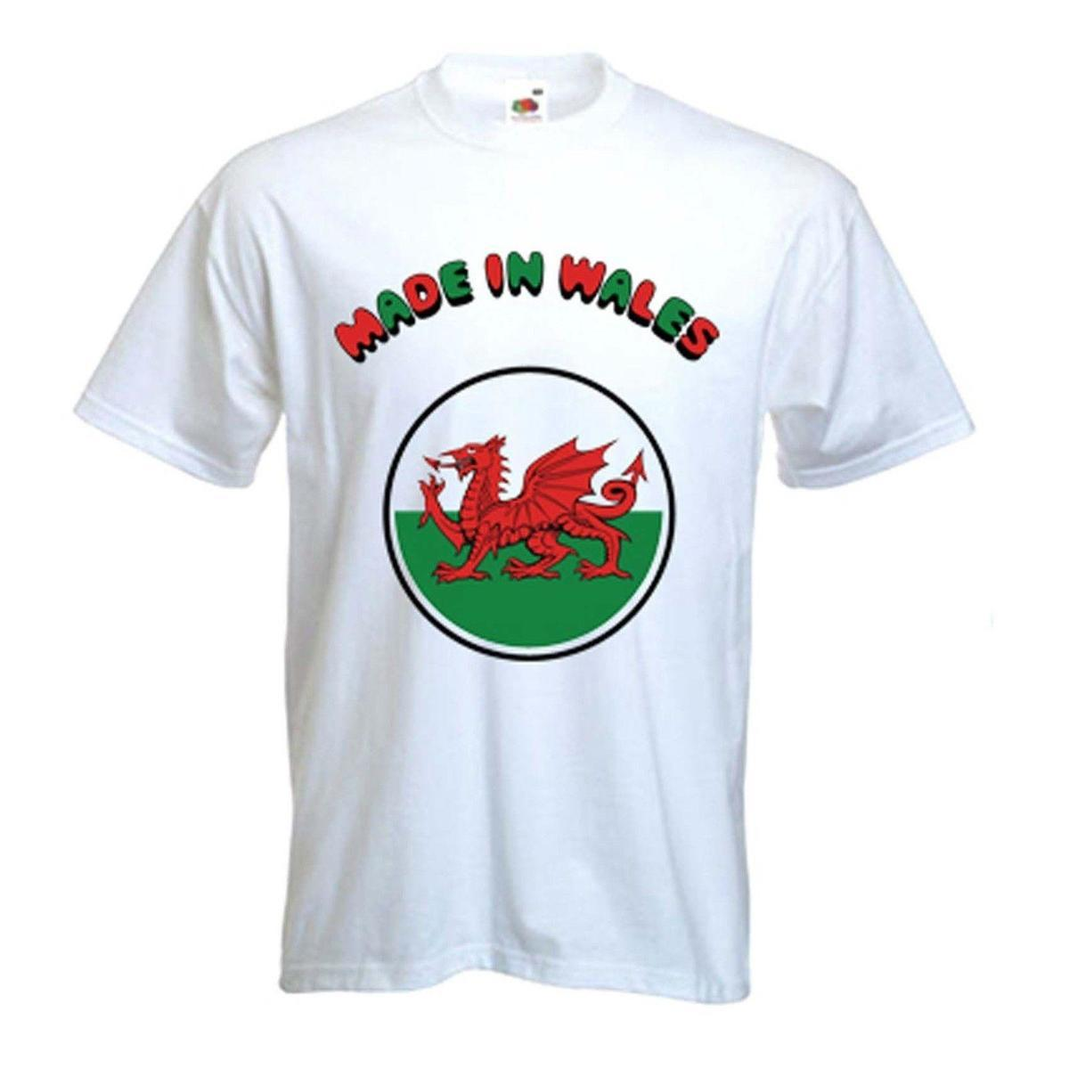 d8ee6223a35 MADE IN WALES WELSH DRAGON T SHIRT Cymru Rugby Sizes Small To XXXL Tees  Designs Find A Shirt From Lijian03, $12.08| DHgate.Com