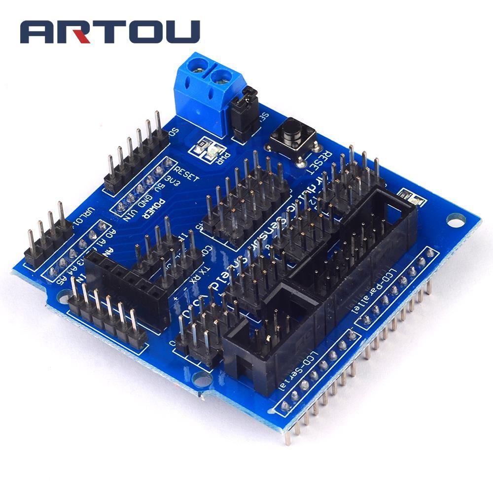 Mega Sensor Shield V50 V5 Dedicated Expansion Board For Where To Buy Integrated Circuit Robot Parts Circuits Cheap 1pcs