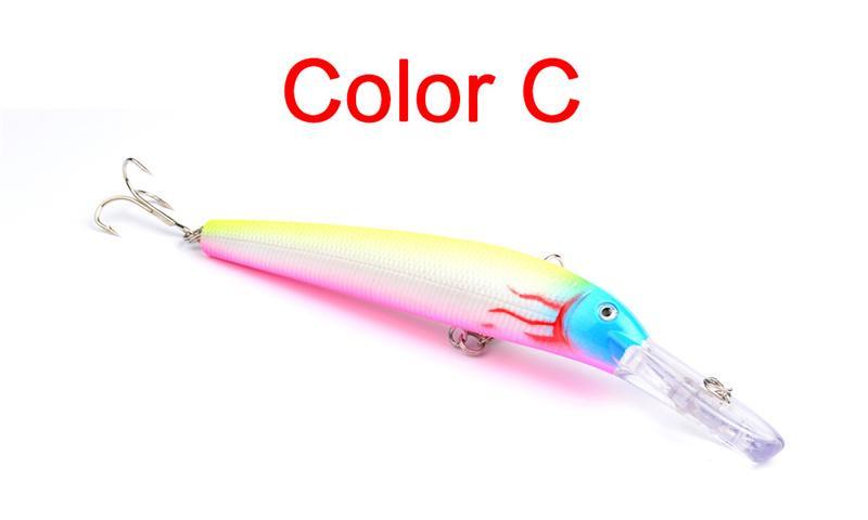 Yüksek Radyasyon Düzene Crankbaits Kanca 15.3 cm 16.8g 7 renkler Isca Yapay Alice dudak Balıkçılık Lures BAS Swimbaits
