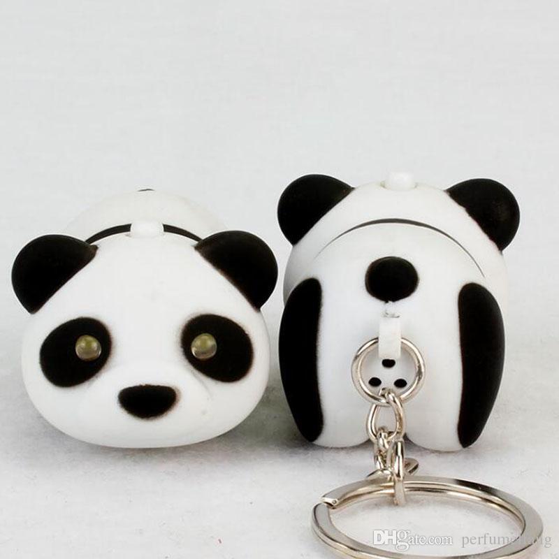 Main De Clés À Keychain Lampe Za6925 Son Mignon Décor Emit La Poche Led Cadeau Lumière Porte Panda Promotionnel Parti Mini OTXikZPu