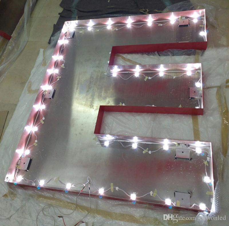 110 v Yüksek Gerilim LED Modül ışığı 16.75ft 4led 1.5 w işareti geri ışık kurulu paneli ışık kaliteli 5 yıl garanti