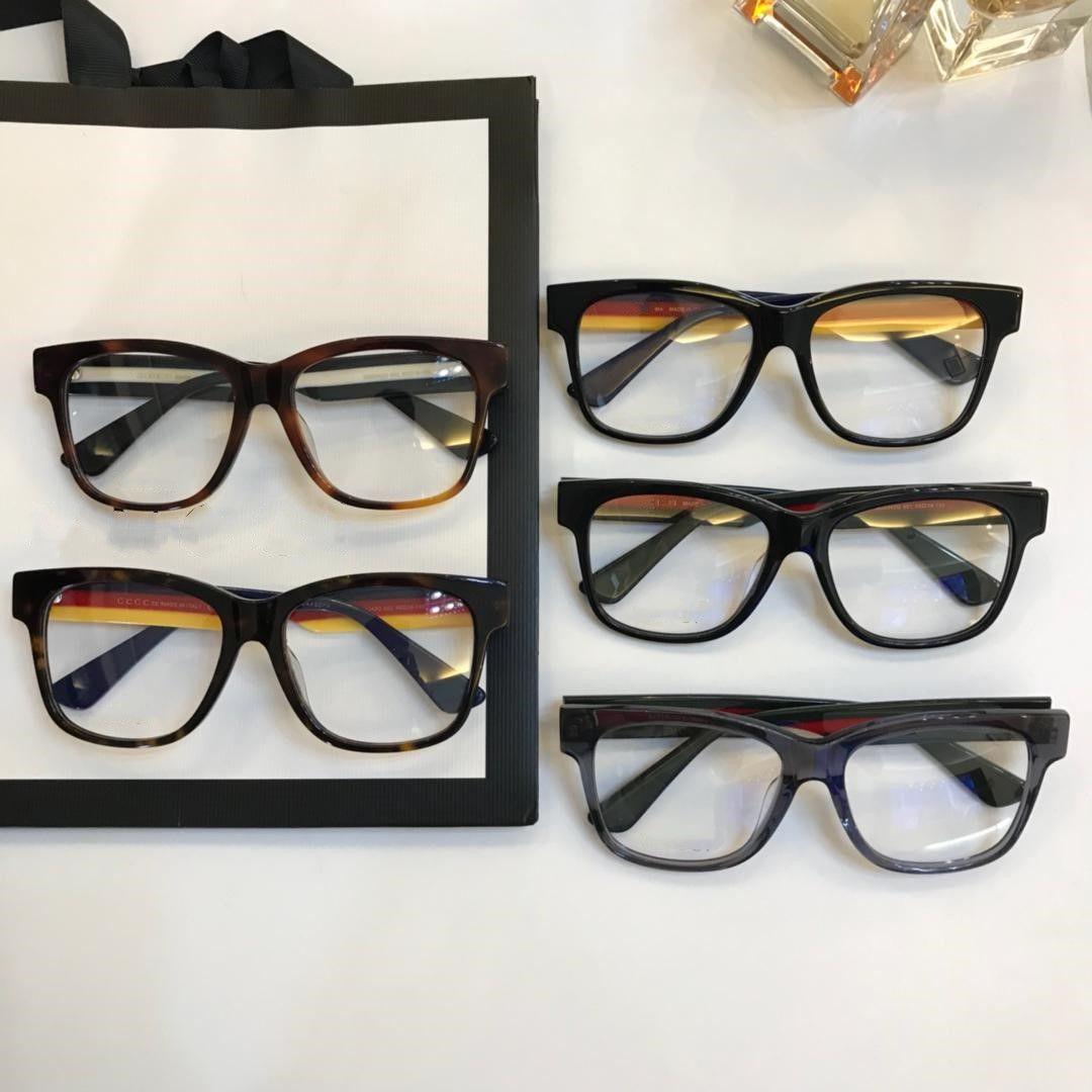 99d1fde4f0a Brand design new fashion eyeglass frame tricolor mosaic big box fashion  matching size fashion shipping from
