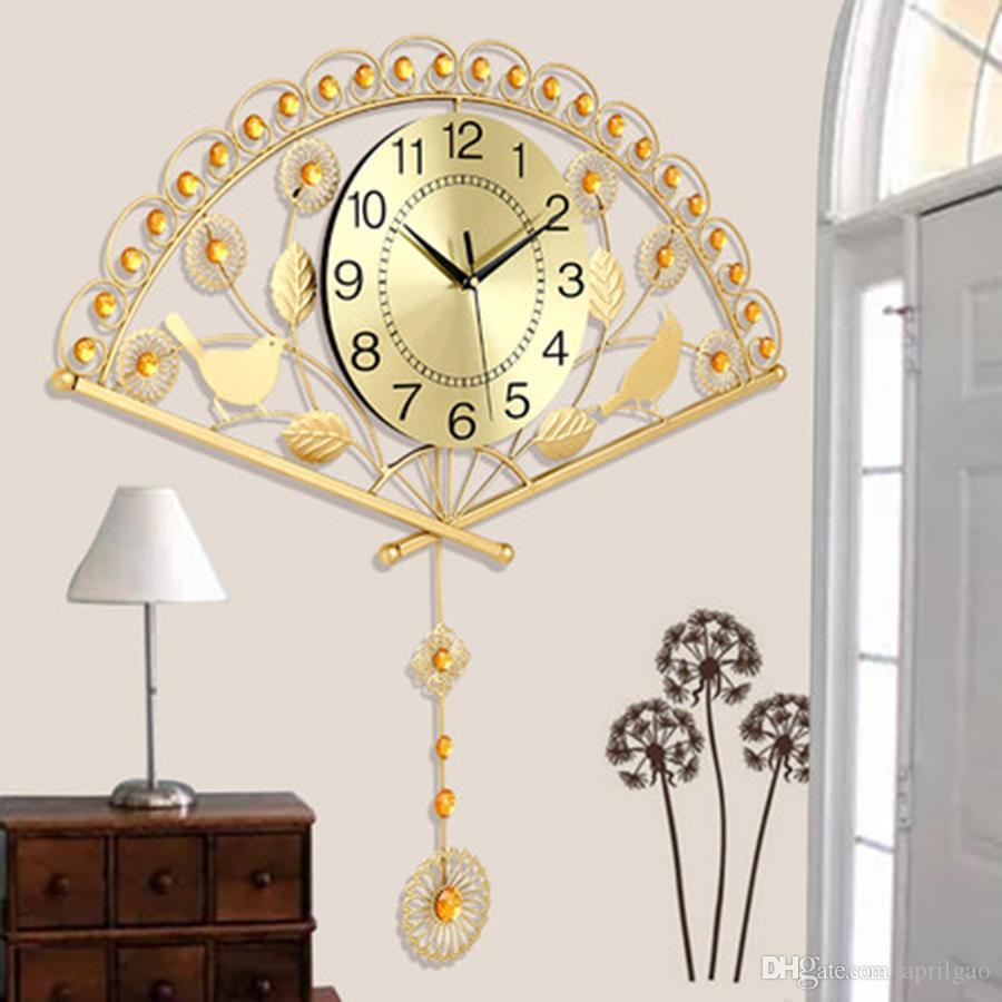 moderne wohnzimmeruhr, großhandel pendel moderne wohnzimmer uhr minimalistischen 3d, Design ideen