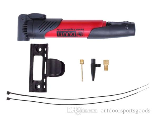 Reparo de Punção de alta qualidade multi-coloridas da bomba de bicicleta mini-bomba mini vias aéreas para transportar uma bomba, pequeno kit de reparação
