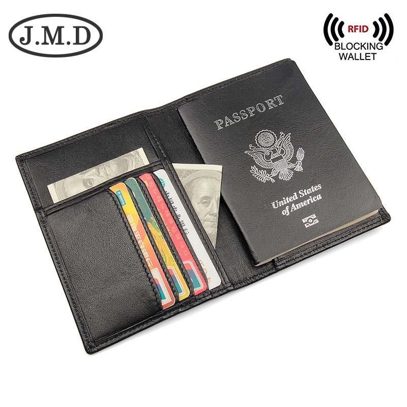 4bb824f36 Men s wallet .Women s Passport Holder. RFID Blocking Genuine Leather  Passport Holder wallet For Men and Women
