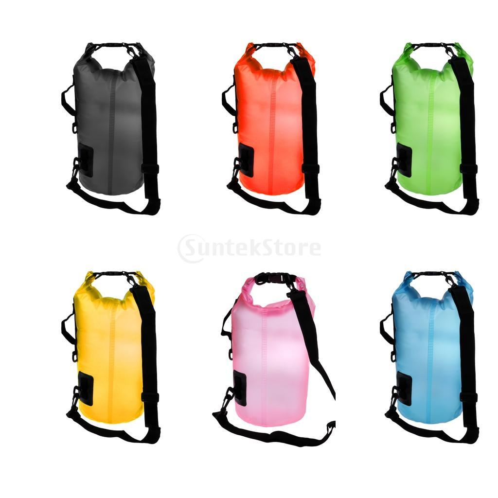 acd378639404 10L Ultralight Waterproof Dry Bag - Roll Top Compression Sack for Swimming  Kayak Canoe Rafting Hiking Fishing Travel Outdoor