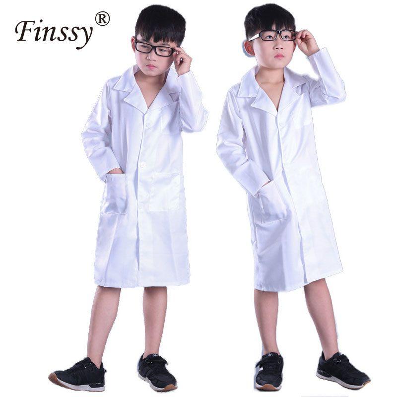Großhandel Doktor Cosplay Kostüm Für Jungen Mädchen Langen ärmeln